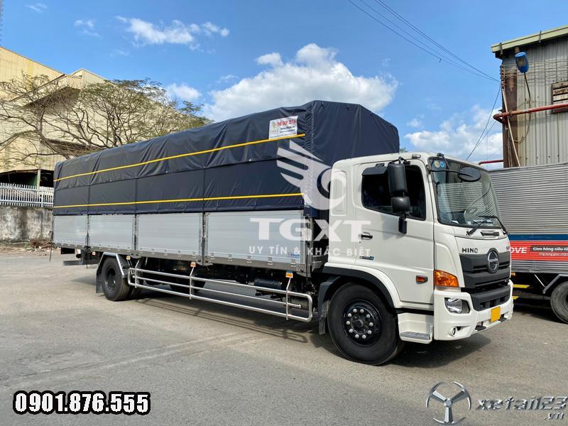 Xe tải Hino FG / xe 7 tấn thùng dài 10m / ngân hàng hỗ trợ vay cao
