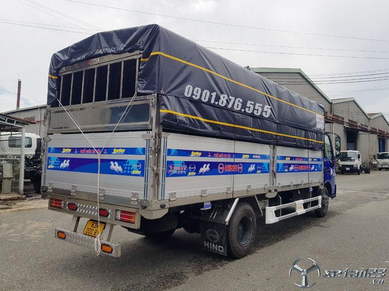 Xe tải Hino XZU730L thùng dài 5m6 có sẵn hỗ trợ vay cao toàn quốc