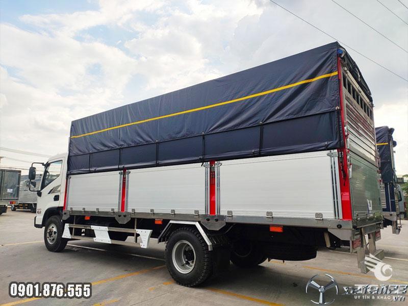 Xe tải Hyundai EX8 GTL thùng dài 5m8 giá siêu tốt hỗ trợ vay cao