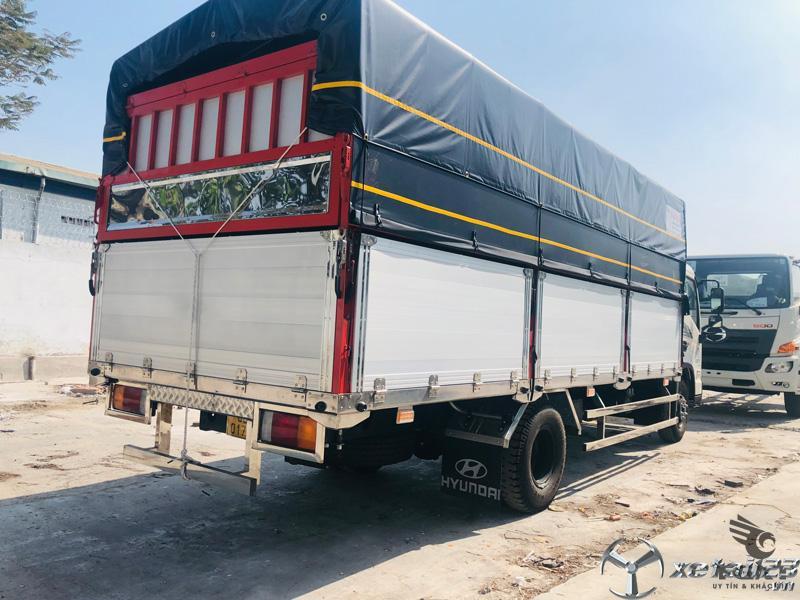 Xe tải Hyundai EX8L 7 tấn thùng bạt/ hỗ trợ trả góp 80%