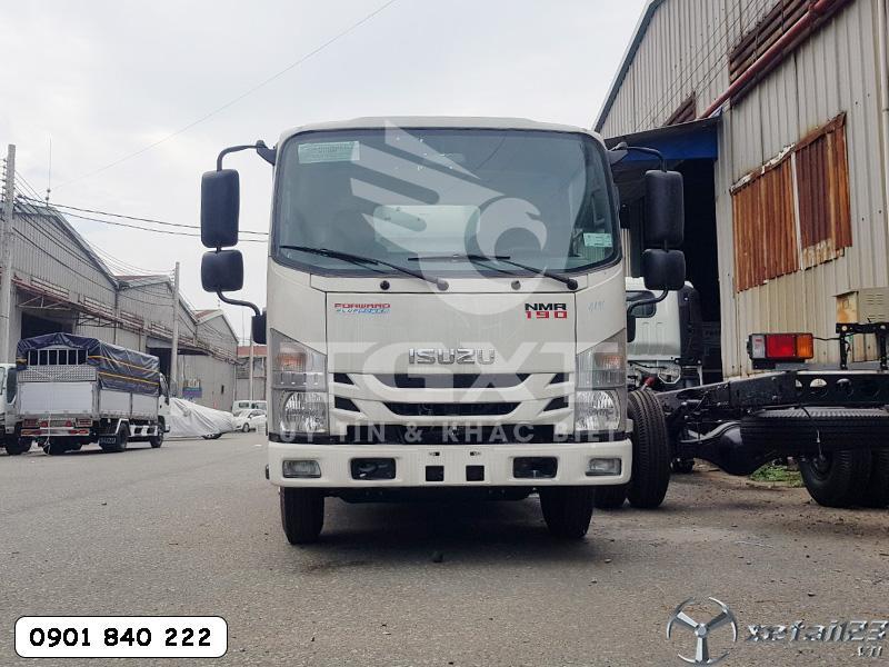 Xe tải Isuzu NMR190 mới nhất thùng dài 4m5 hỗ trợ trả góp 80-90%