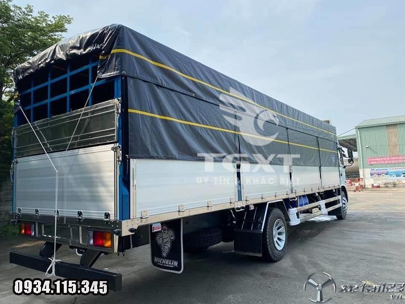 Xe tải Jac A5 9 tấn thùng bạt dài 8m2 giá tốt giao xe tận nơi