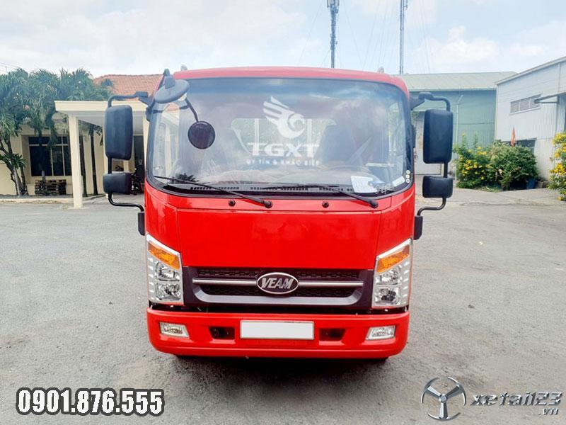 Xe tải Veam VT340S thùng lửng 6m trả trước 20% nhận xe ngay