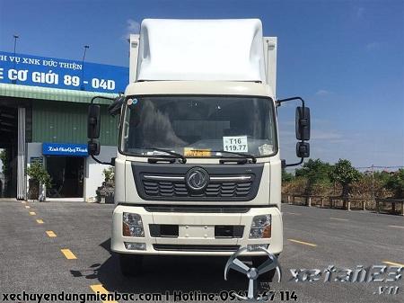 Xe chở Pallet 8 tấn DONGFENG B180 thùng Container dài 9,7M