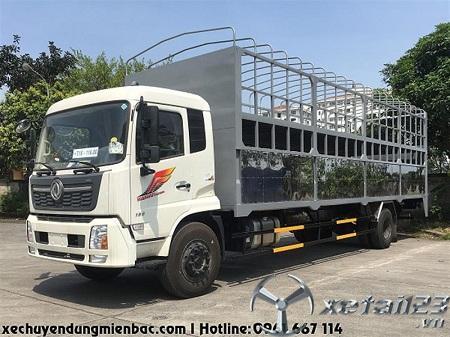 Xe chở xe máy Dongfeng B180 thùng dài 9,7M