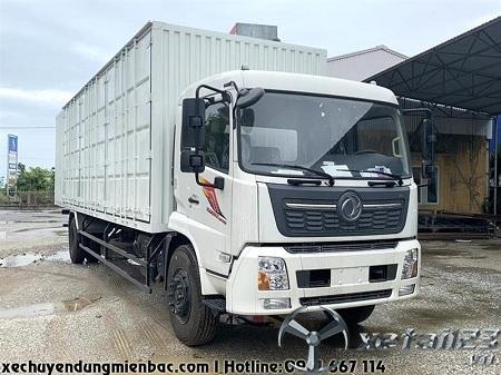 Xe tải thùng kín Container 7.2 tấn DONGFENG B180 dài 9.7M