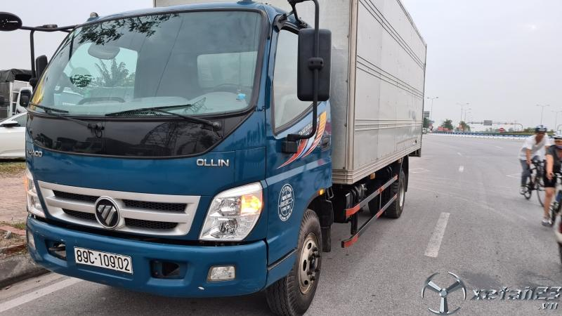 Bán Thaco Ollin 700B sx 2016 thùng kín giá rẻ nhât