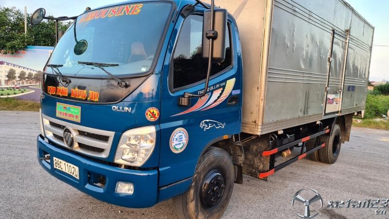 Bán Thaco Ollin 700C tải 7 tấn đời 2015 thùng mui bạt