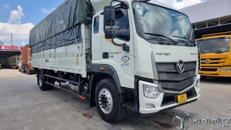 Bán xe Thaco Auman C160 tải 9,1 tấn sx 2019 , đăng kí thùng mui bạt