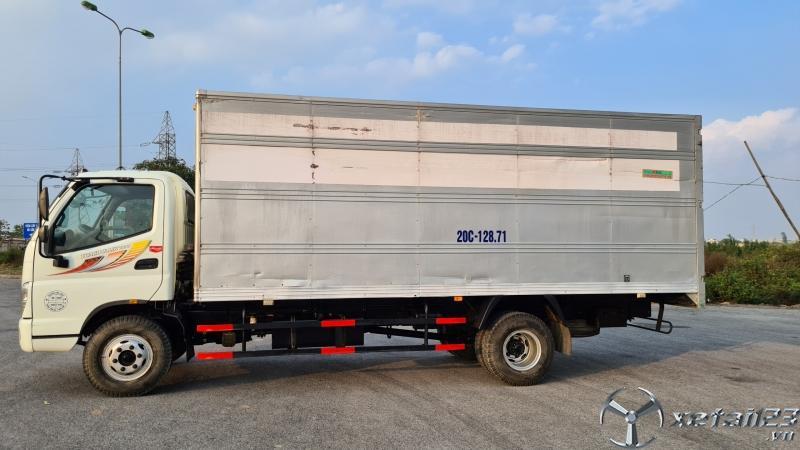 Bán xe Thaco Ollin 700C 7 tấn sản xuất năm 2017 thùng kín