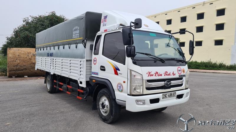 Bán xe TMT 6 tấn sản xuất năm 2015 thùng mui bạt