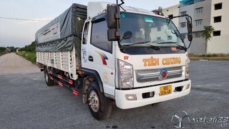 Bán xe TMT 6 tấn sản xuất năm 2015 thùng mui bạt dài 6,2m