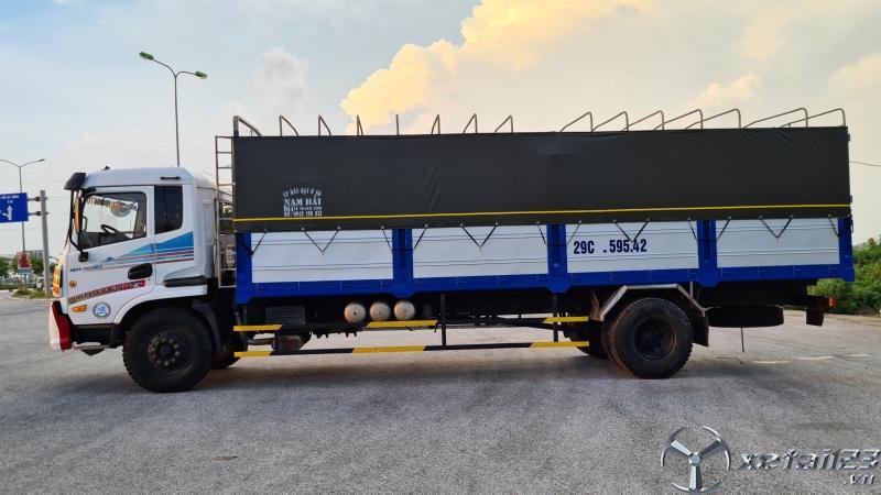 Cần bán gấp xe Trường Giang sản xuất năm 2015 thùng mui bạt
