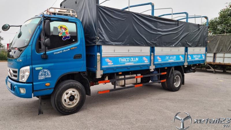 Cần bán xe Thaco Ollin 720 New sản xuất  năm 2019 thùng mui bạt