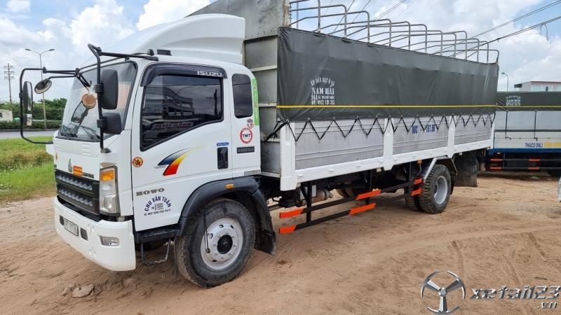 Cần bán xe TMT 8,4 tấn sx 2017 , đăng kí 2019 thùng mui bạt dài 6,9m
