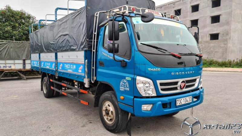 Rao bán xe Thaco Ollin 720 New sản xuất năm 2019 thùng mui bạt