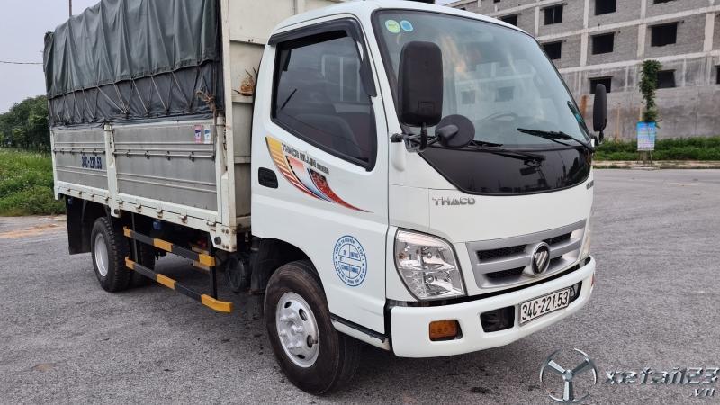 Xe Thaco Ollin 500B đời 2015 thùng mui bạt đã qua sử dụng cần bán giá tốt nhất