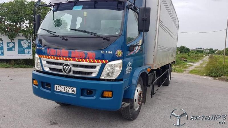 Xe Thaco ollin 800a thùng kín sản xuất năm 2015 đã qua sử dụng giá chỉ 375 triệu