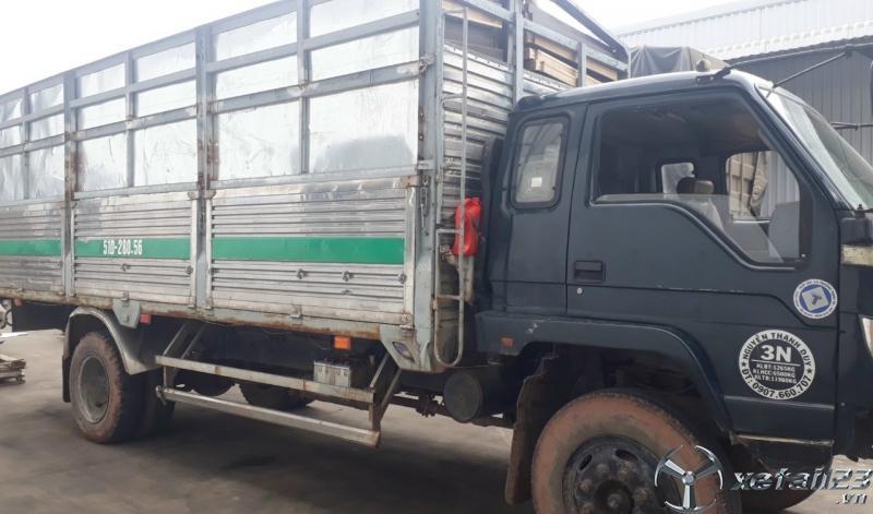 Cần bán gấp Thaco 6,5 tấn đời 2009 thùng mui bạt giá công khai 145 triệu