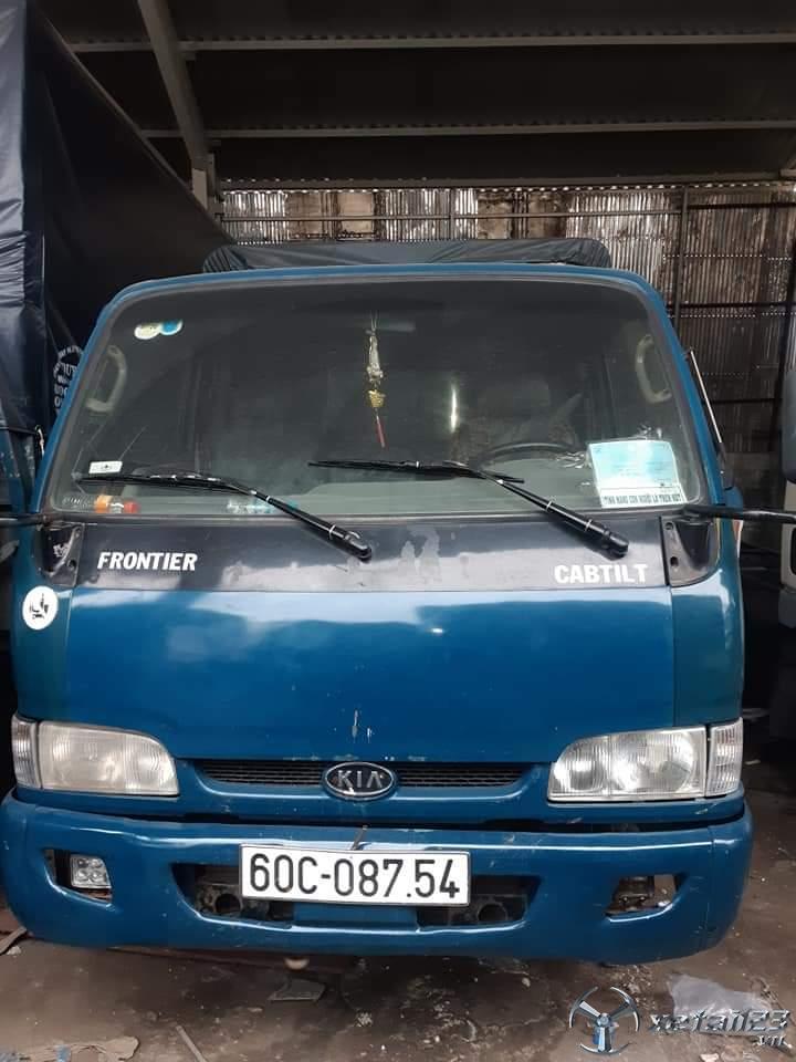 Cần bán xe Kia Frontier đời 2003 thùng mui bạt đã qua sử dụng giá chỉ 110 triệu