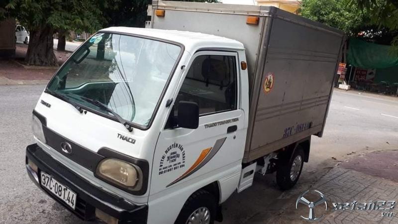 Bán Thaco Towner đời 2013 phiên bản thùng kín đã qua sử dụng giá chỉ 75 triệu