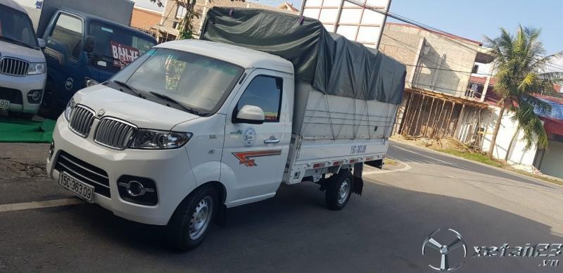 Bán  xe Dongben 990 Kg đời 2020 thùng mui bạt