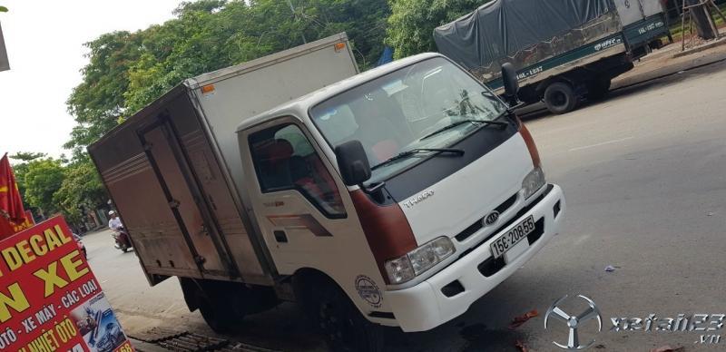 Bán xe Thaco K165 sx 2016 phiên bản thùng kín với giá chỉ 280 triệu