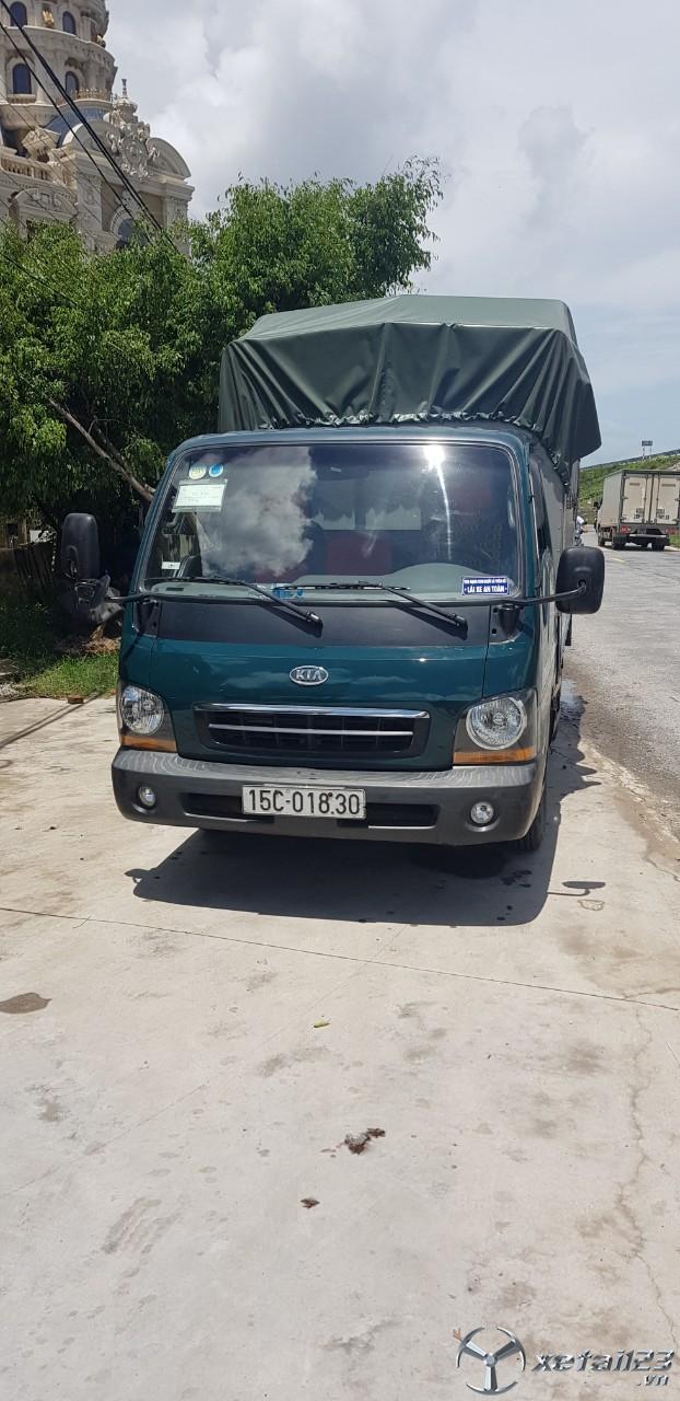 Ô tô tải Kia K2700II thùng mui bạt đời 2011 cần bán với giá chỉ 180 triệu