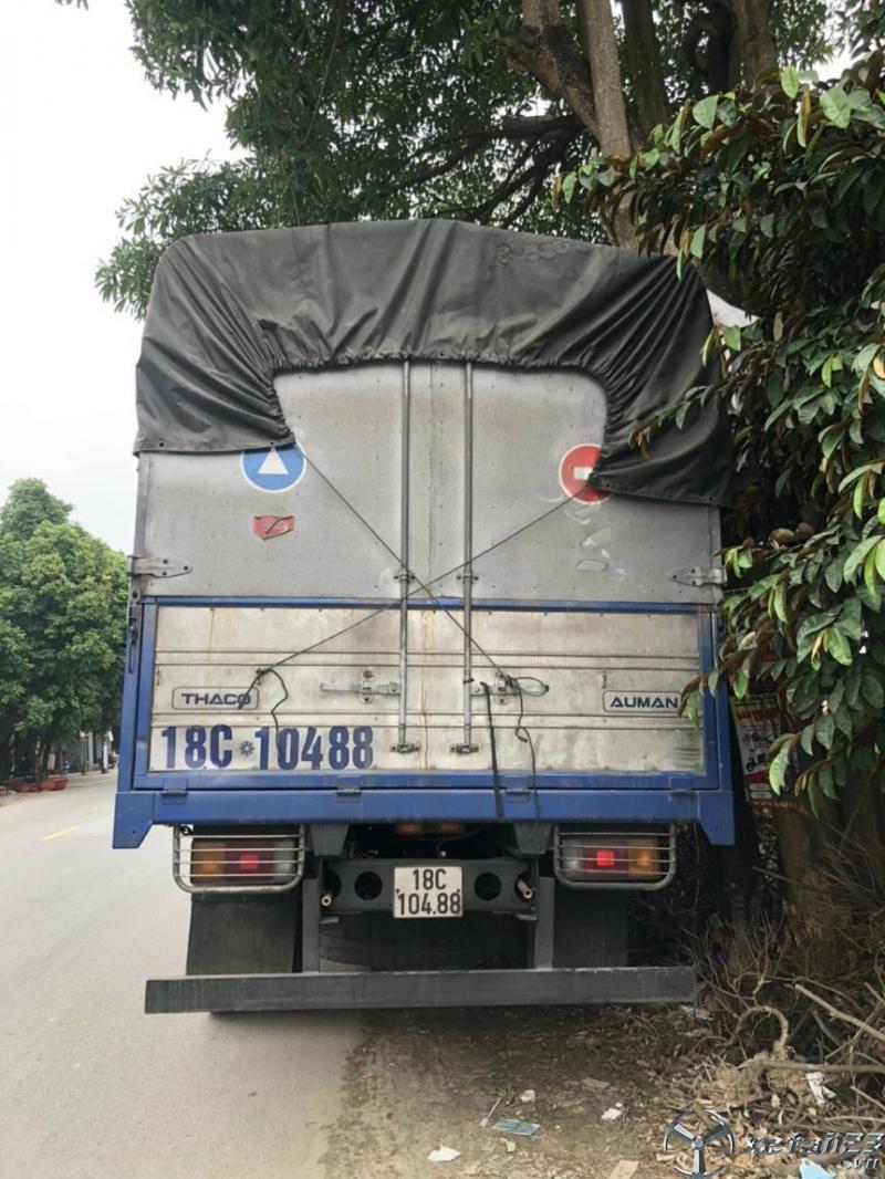 Xe Thaco Auman C160 đời 2016 thùng mui bạt đã qua sử dụng cần bán giá chi 480 triệu