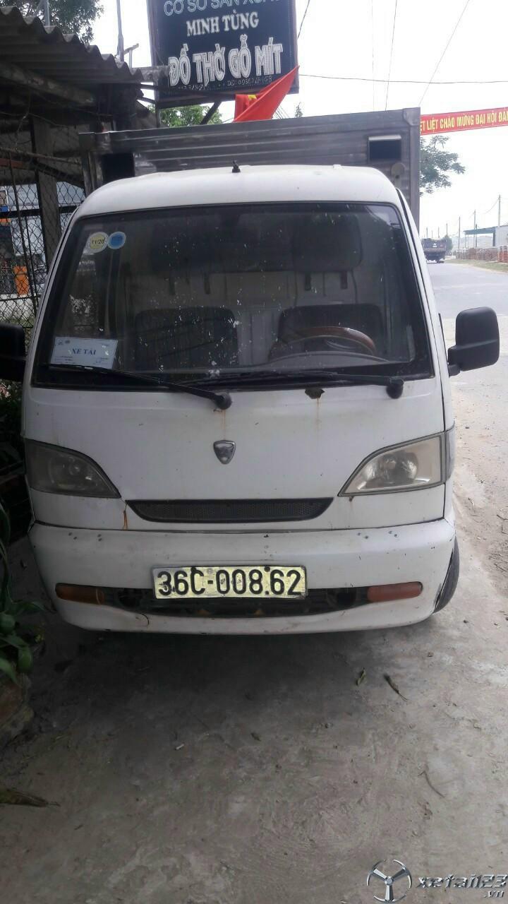 Bán gấp xe Vinasuki 5 tạ đời 2010 phiên bản thùng kín với giá 38 triệu