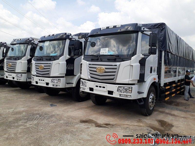 Xe tải Faw 8 tấn thùng siêu dài Giá tốt