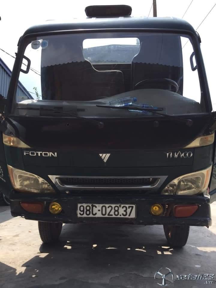 Cần bán Thaco Fc đời 2009 thùng mui bạt với giá 75 triệu