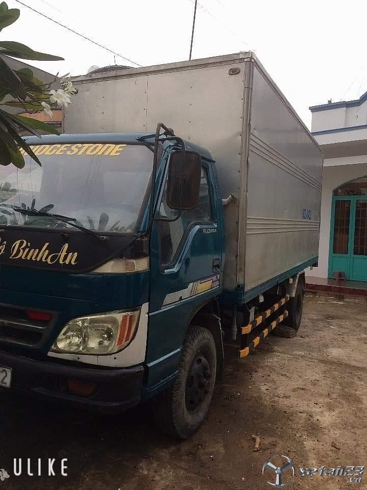 Bán Thaco 3,5 tấn thùng kín đời 2009 với giá chỉ 98 triệu