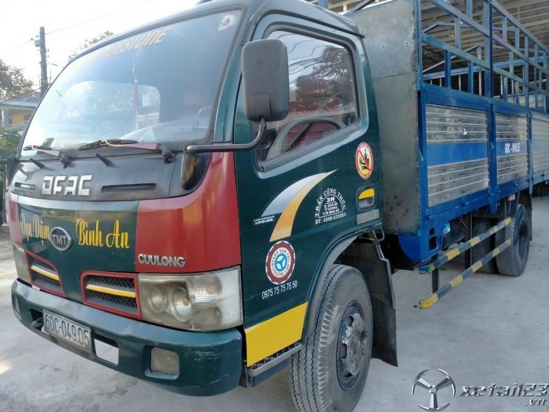 Bán xe TMT đời 2009 phiên bản thùng mui bạt