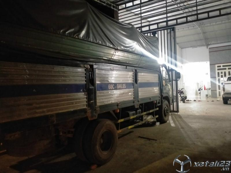 Rao bán xe TMT 3,5 tấn đời 2009 thùng mui bạt giá rẻ nhất