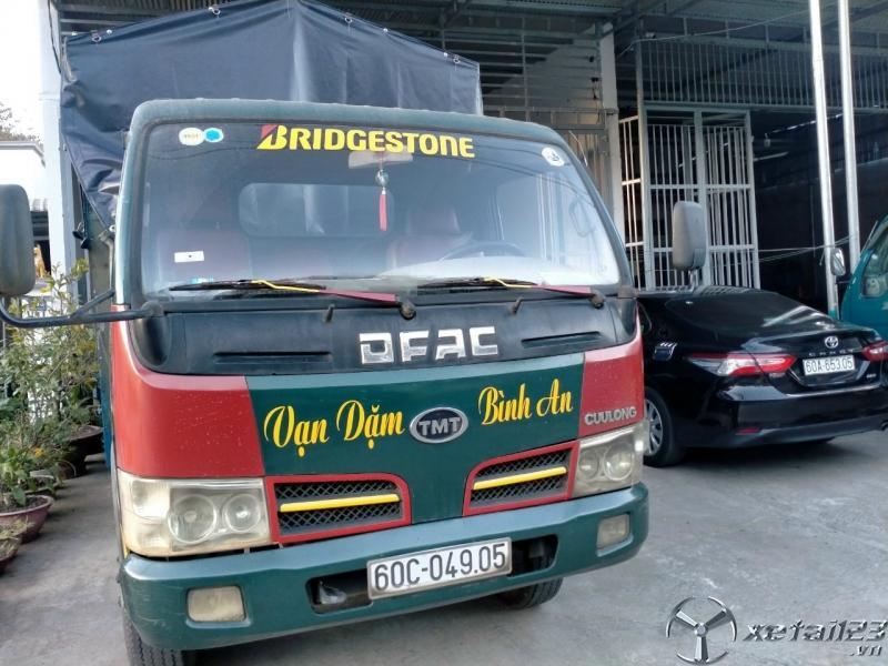 Thanh lý gấp xe TMT sản xuất năm 2009 thùng mui bạt