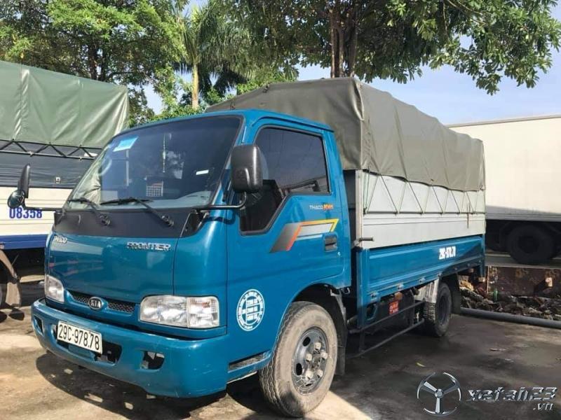 Bán gấp xe Thaco K165 thùng mui bạt sản xuất năm 2017