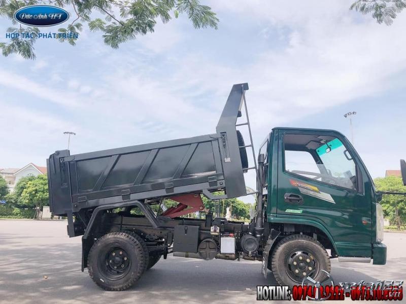 Xe tải ben Chiến Thắng 2 tấn 35