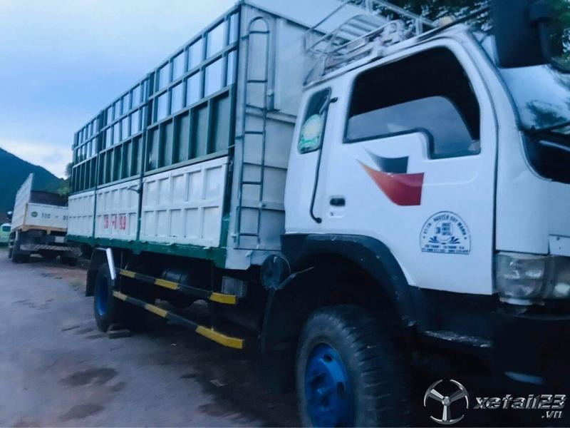 Xe Trường giang đời 2008 thùng mui bạt cần bán với giá 125 triệu, sẵn xe giao ngay