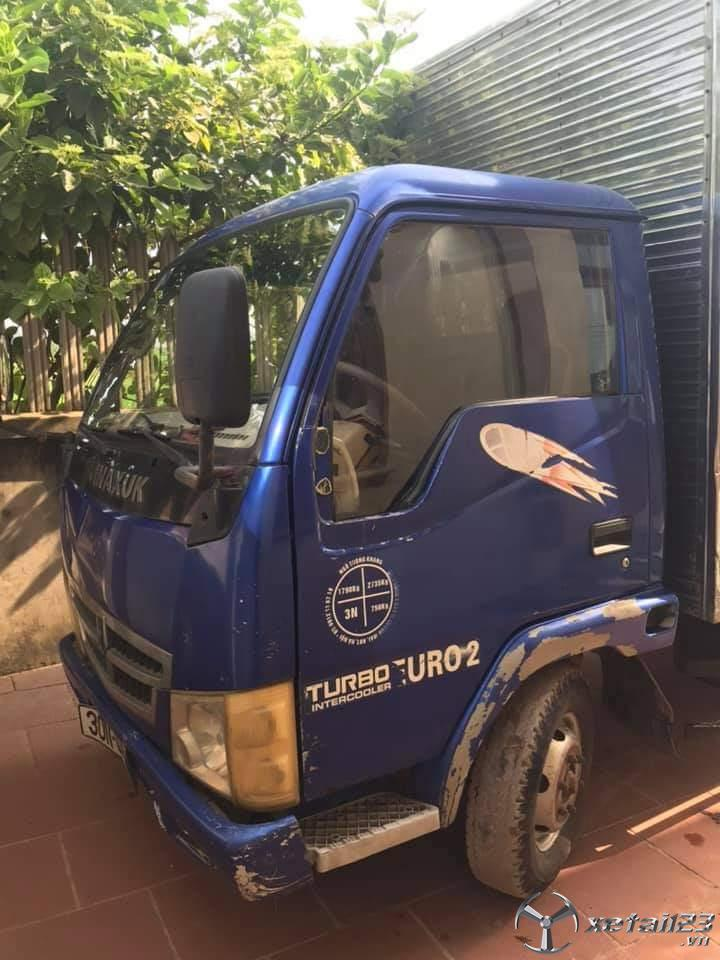 Cần bán gấp xe Vinasuki đời 2008 thùng kín giá chỉ 30 triệu