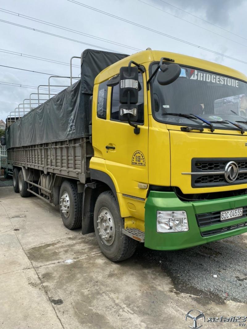 Rao bán xe Dongfeng Hoàng Huy 4 chân đời 2015 thùng mui bạt với giá 770 triệu