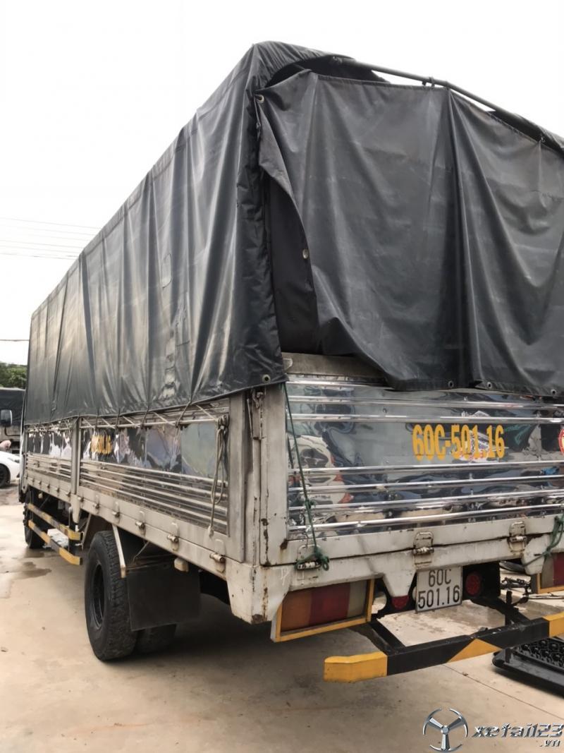 Xe  Isuzu sx 2016 phiên bản thùng mui bạt cần bán với giá 600 triệu