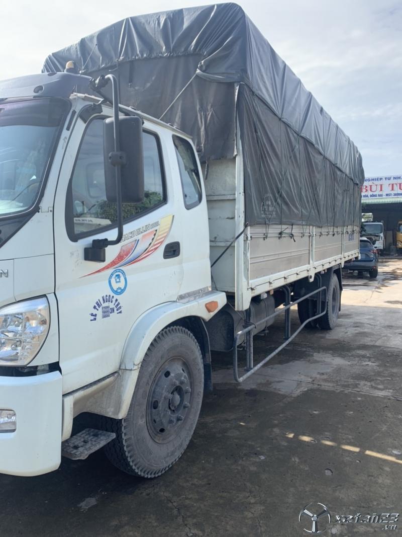 Xe Thaco Ollin 800A đời 2015 thùng mui bạt đã qua sử dụng.Chỉ với 360 triệu nhận ngay xe đẹp