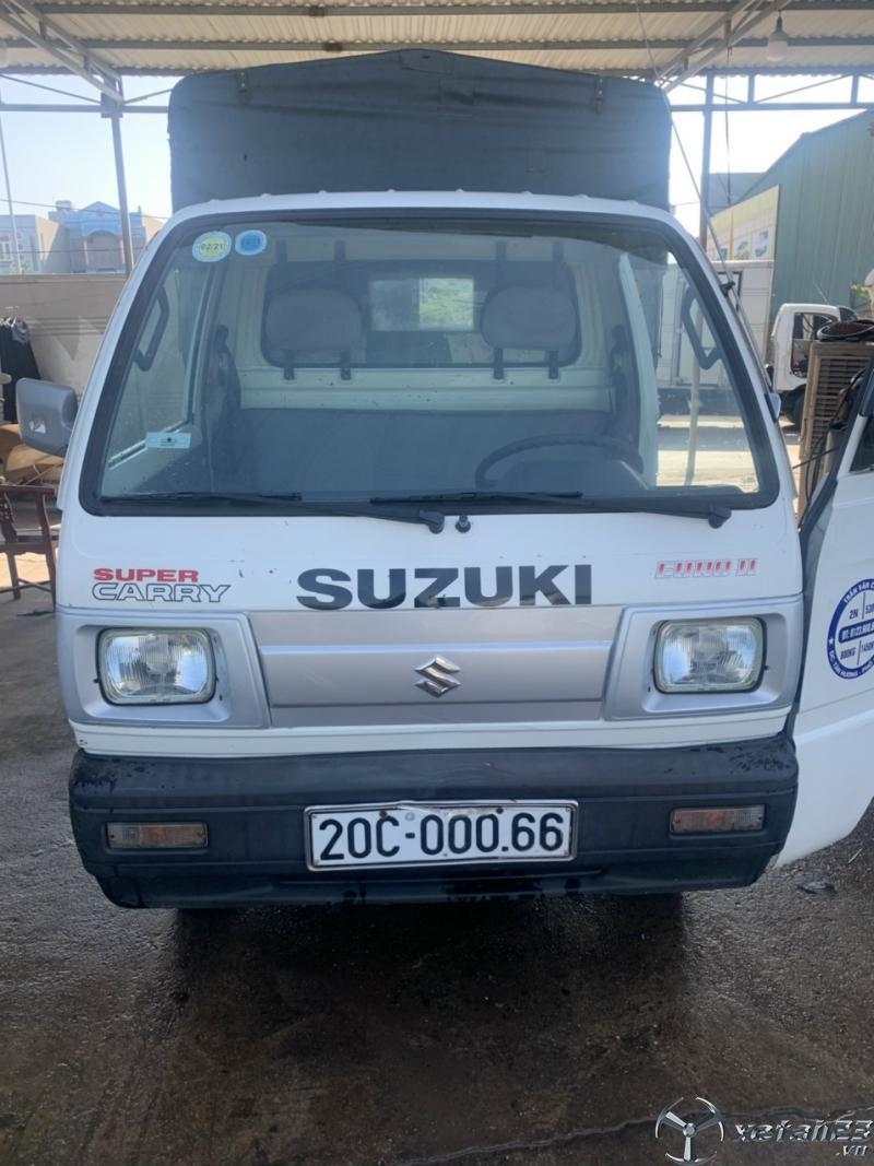 Bán gấp xe tải Suzuki đời 2010 thùng mui bạt giá rẻ nhất , sẵn xe giao ngay