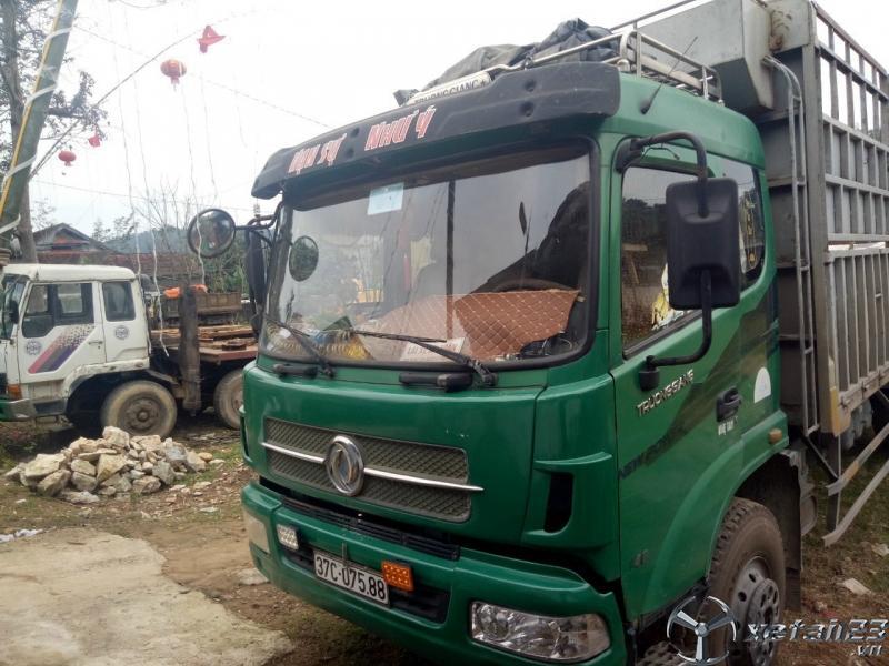 Bán xe Trường Giang 6,9 tấn đời 2013 thùng mui bạt