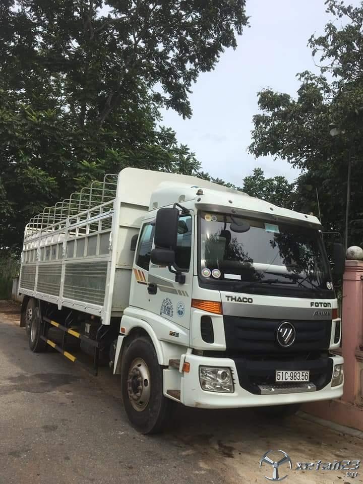 Cần bán xe Thaco Auman đời 2017 thùng mui bạt.Chỉ với 680 triệu nhận ngay xe đẹp