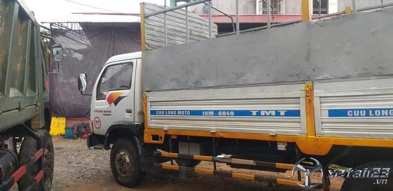 Rao bán xe Cửu Long thùng mui bạt đời 2009 với giá rẻ nhất chỉ 90 triệu