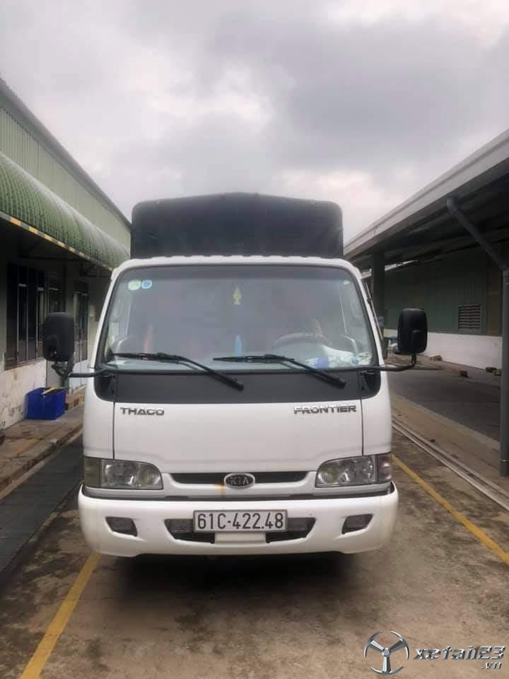 Bán Kia K165 tải trọng 2,4 tấn thùng mui bạt .Chỉ với 285 triệu nhận ngay xe đẹp