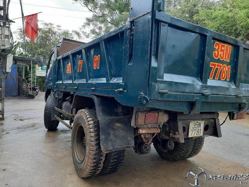 Cần bán Ben Cửu Long tải trọng 4,75 tấn đời 2008