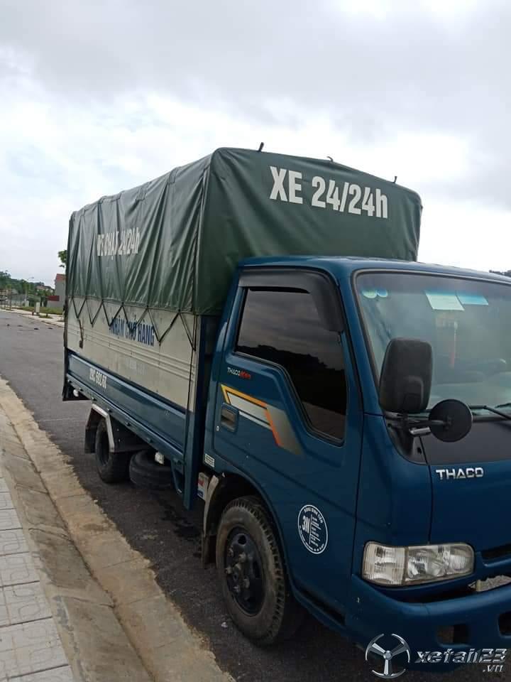 Bán gấp xe Thaco K165 thùng mui bạt đời 2015 với giá 290 triệu